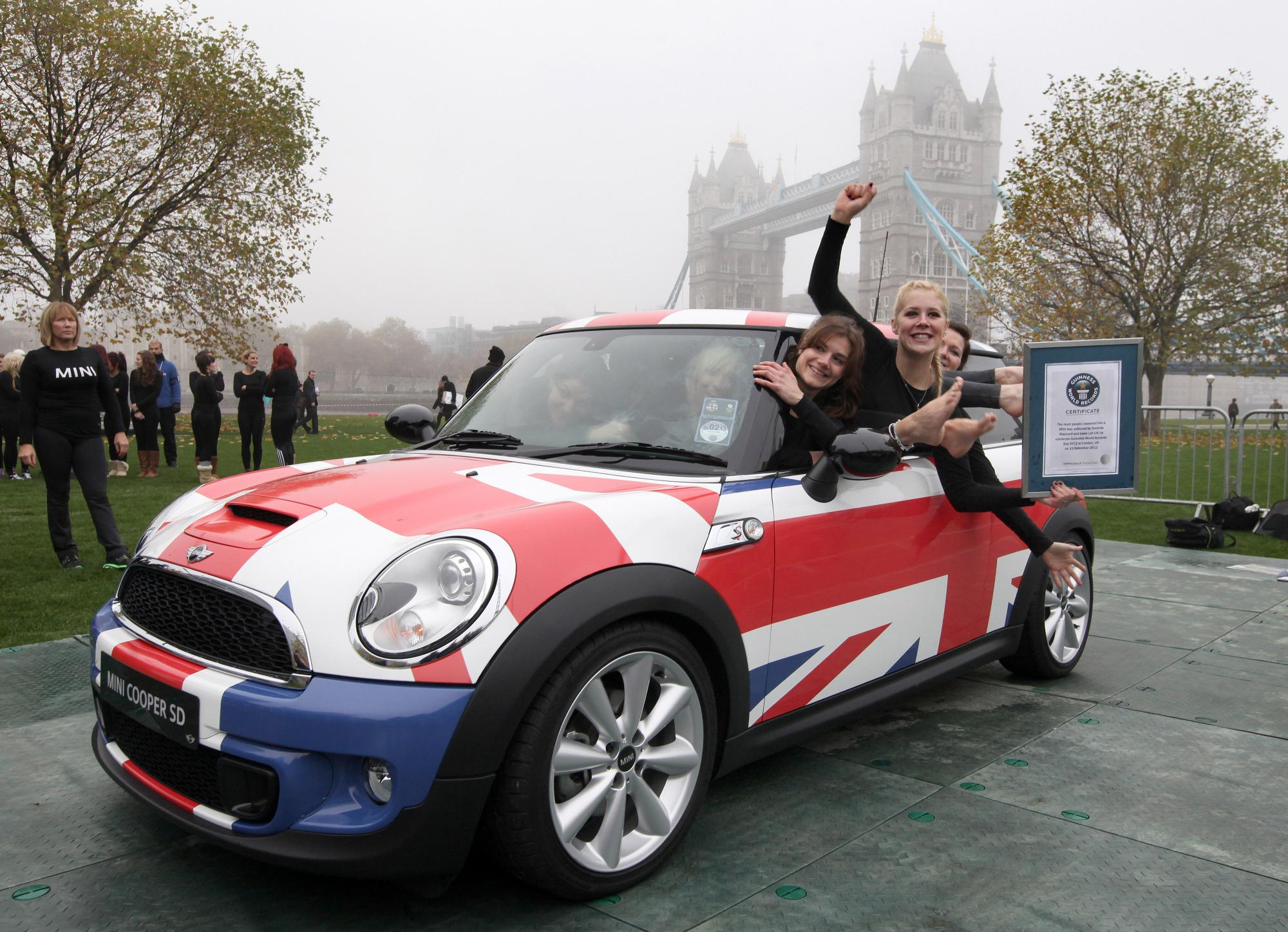 Record-breaking MINI
