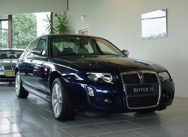 News Delivery Miles Rover 75 V8 For Sale Aronline