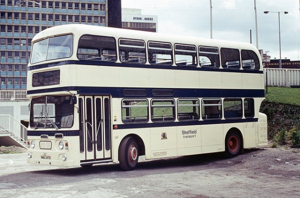 The Fleetline was a Municipal favourite. This one is from the vast Sheffield City Transport fleet.