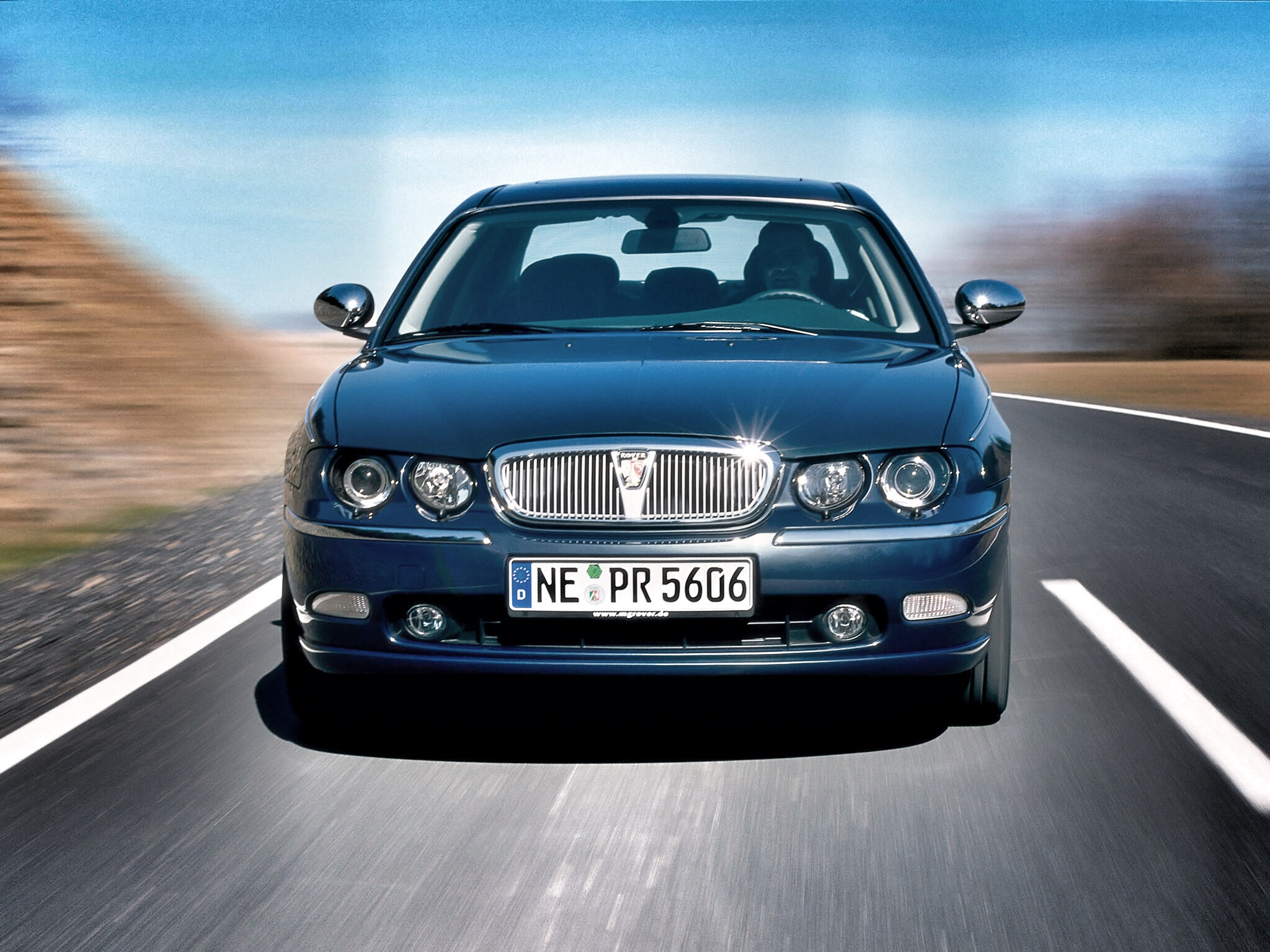 Lesser-spotted German Rover 75