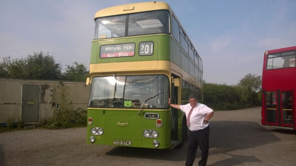 I'm ready for the off with this stunning 1970 Daimler Fleetline