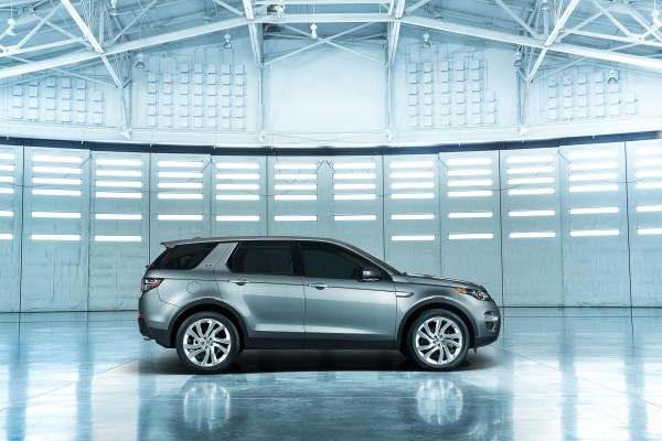 Land Rover's new Discovery Sport
