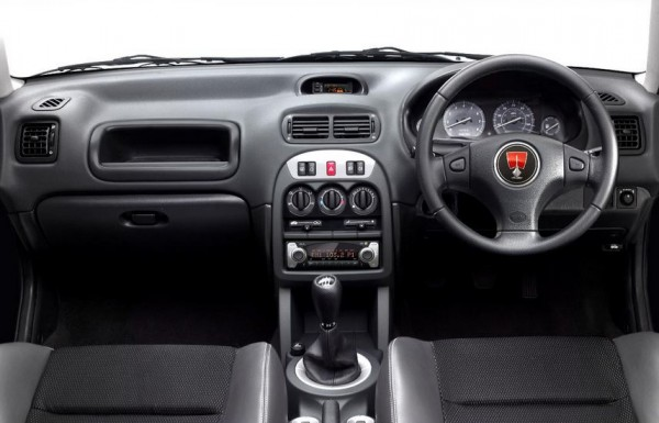 Modifications to the heater controls, gear lever surround  and cupholders couldn't disguise the Streetwise's dated origins