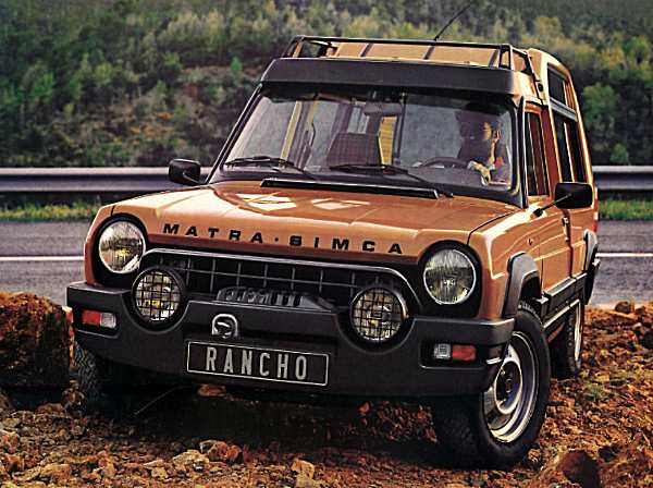 France's own Streetwise? Did Matra come up with the Streetwise concept 20 two decades sooner?