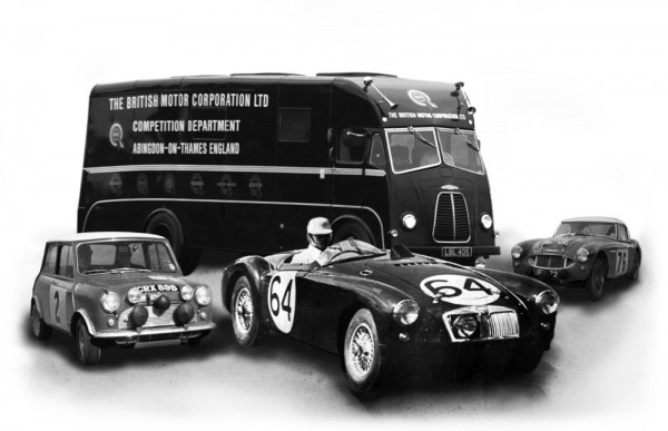 MG Live! will celebrate the 60th Anniversary of the BMC/BL Competitions Department.