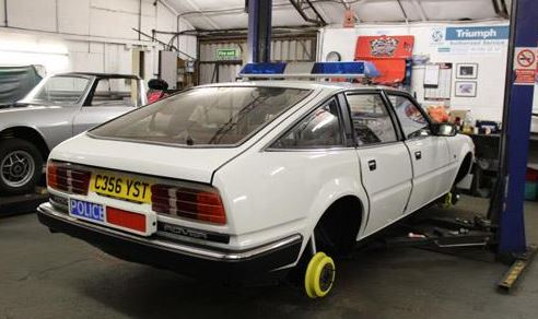 SD1 was restored for the BBC Show For the Love of Cars, with the help of Stag and TR7 specialists, Robsport, in Hertfordshire