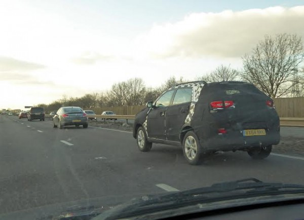Richard was en route to Birmingham Airport when he clocked the MG on the M6