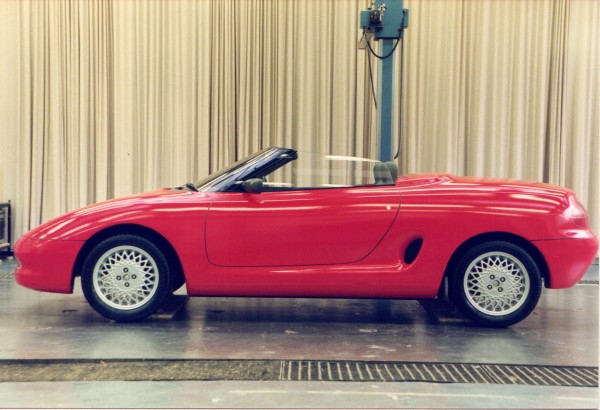 MG PR3 prototype from MGA Design - as commissioned by Rover Special Products