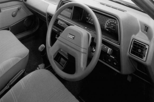 Even though the Montego was based on the Maestro, it received a different (and structurally more sound) dashboard. This one-piece affair was far less prone to rattles and squeaks, and so it was inevitable that it would find its way into the Maestro. (Photograph supplied by Rene Winters.)