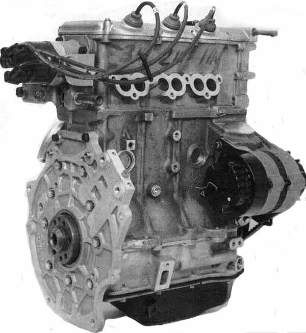 A three-cylinder engine powered the 1982 ECV3 prototype – it was the grandfather of the K-Series engine, which powered the Minki 1 prototype.