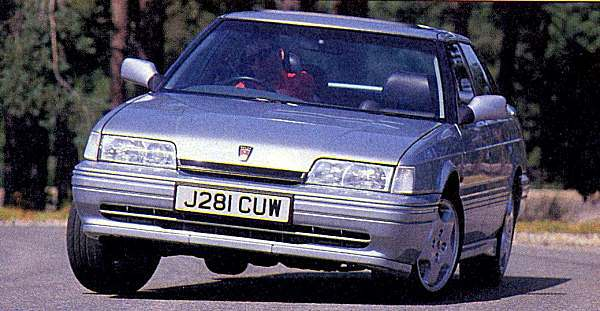 Rover Special Products: Rover 820 Turbo 16V was conceived by RSP and developed by Tickford.
