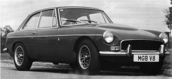 Ken Costello fitted a Rover V8 to the MGB to release this car's inner potential.