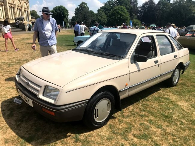If this beige Ford Sierra doesn't encapsulate the Festival perfectly, We're not sure what does...