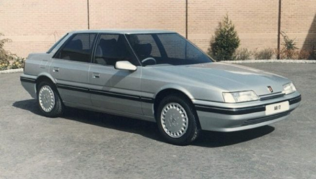 AR16/17 was designed to slot in below the Rover 800, replacing the Austin Montego. The saloon (above) was known as AR17, and the fastback, the AR16…